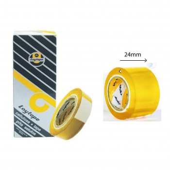 Loytape Cellulose Tape - 24mm x 15yards